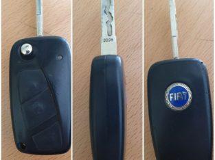 Chiave auto radiocomando fiat